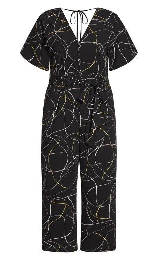 Free Hand Jumpsuit - black