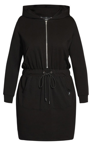 Double Time Dress - black