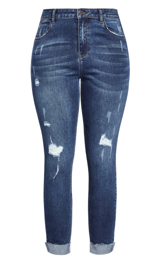Harley Rebel Skinny Jean - denim