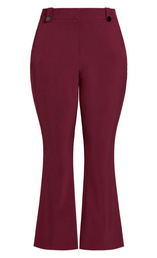 Tuxe Luxe Pant - claret