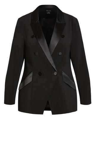 Tuxe Luxe Jacket - black