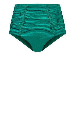 Azores Bikini Brief - emerald