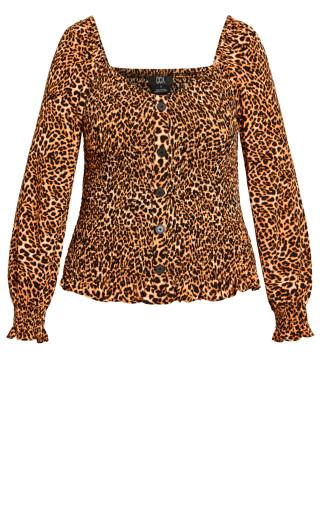 Wild Animal Top - leopard