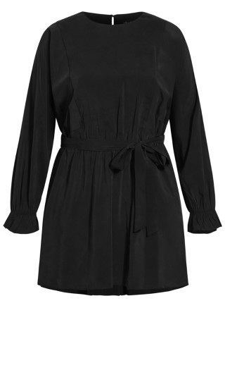 Romanticise Tunic - black
