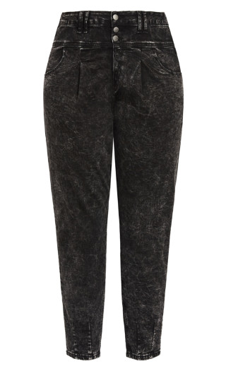 Cool Buttons Jean - black wash