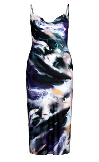 Misty Eclipse Dress - mist