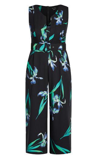 Winter Iris Jumpsuit - black