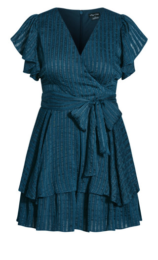 First Date Playsuit - teal