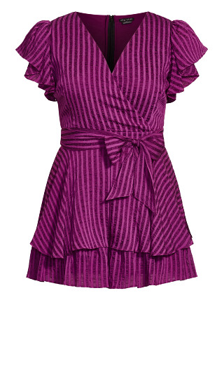First Date Playsuit - magenta