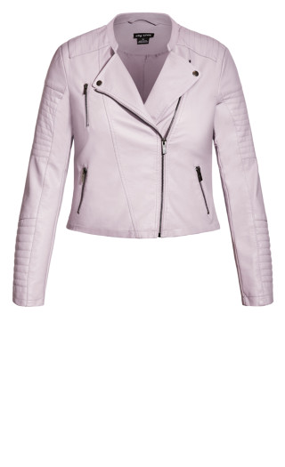 First Love Jacket - dusty lilac
