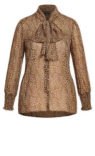 Luxe Leopard Top - leopard