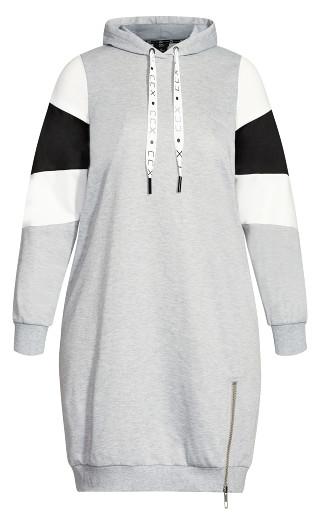 Retro Active Hoodie - grey