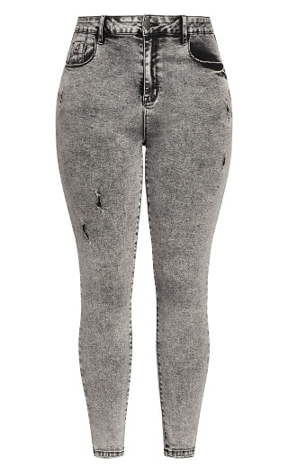 Harley Chill Out Jean - acid wash