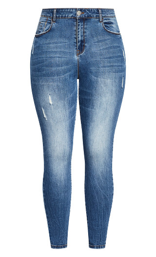 Harley Chill Out Jean - denim