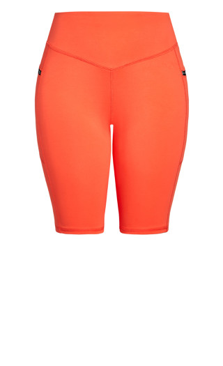 Let's Go Bike Short - orange