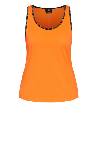 Punch It Tank - orange