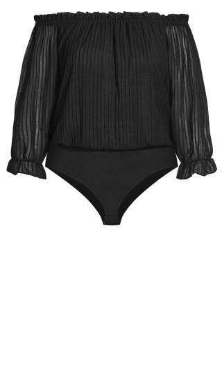 Sweet Kiss Bodysuit - black