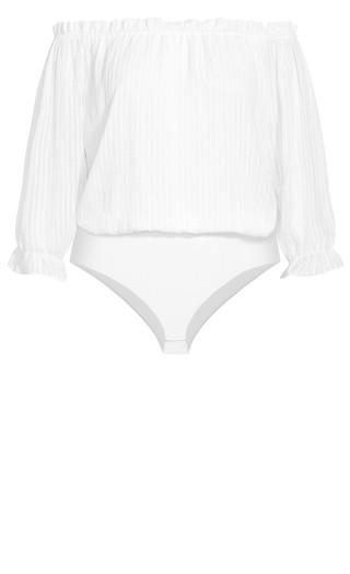Sweet Kiss Bodysuit - ivory