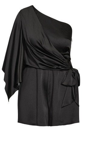 Commanding Playsuit - black