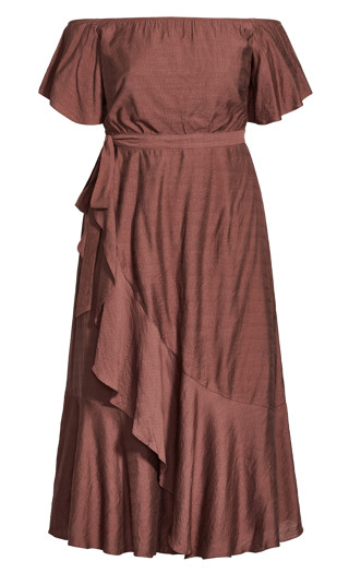 Inspiration Maxi Dress - mink