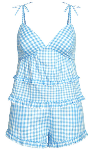 Ashleigh PJ Set - cornflower