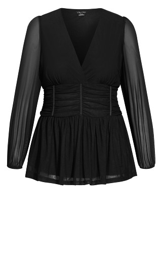 Rapture Top - black