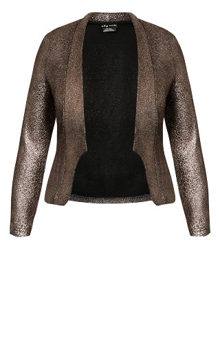 Shining Light Jacket - bronze