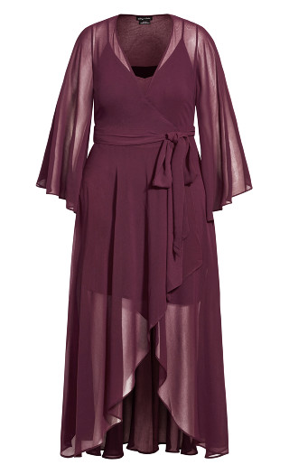 Fleetwood Maxi Dress - plum
