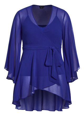 Fleetwood Tunic - lapis