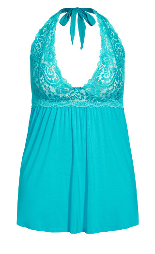 Soft & Comfy Babydoll - turquoise