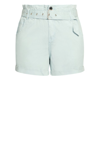 Waist N Belt Shorts - mint