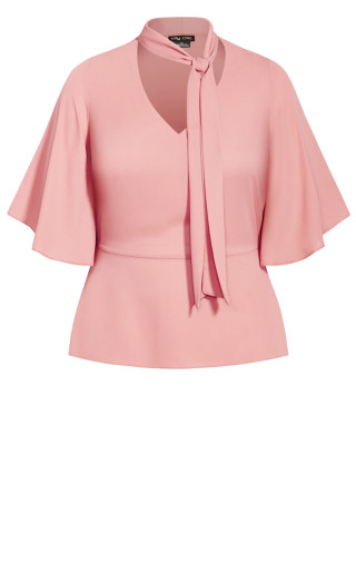 Decor Shirt - rose pink