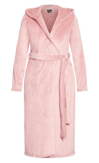 Imogen Robe - dusty pink