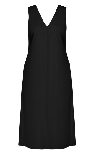 Eclectic Dress - black