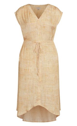 Weave Dress - stone