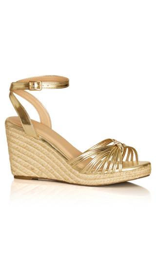 Alita Wedge - gold