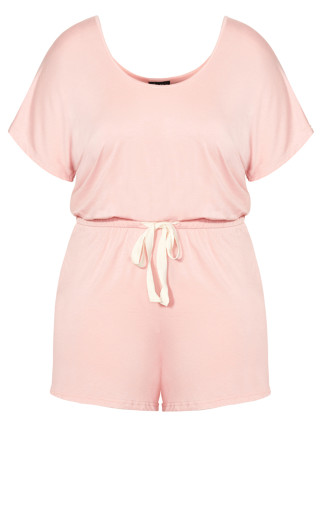 Carrie Romper - pink
