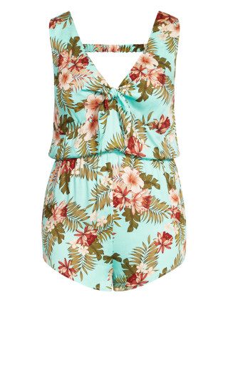 Maya Playsuit - mint