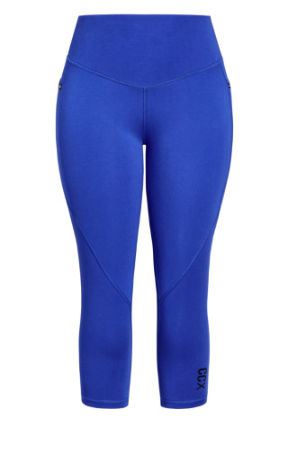 Active 3/4 Legging - royal blue
