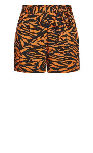 Serengeti Short - tiger print