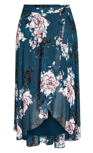 Jade Blossom Skirt - jade blossom