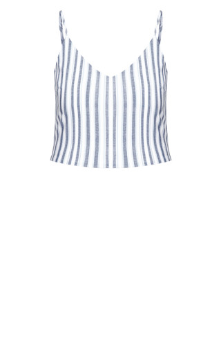 Summer Stripe Top - ivory