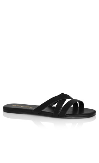 Riassa Slide - black