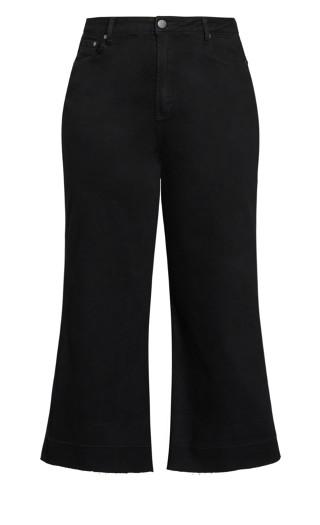 Harley Culotte Jean - black wash