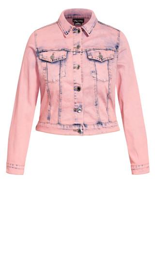 Sashay Jacket - rose denim