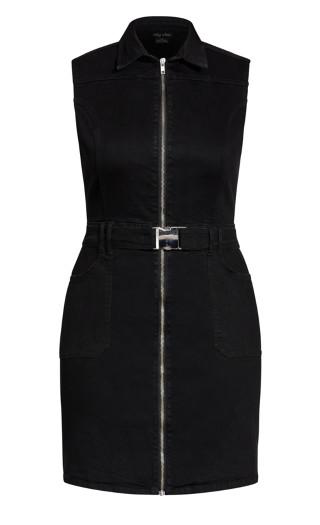 Sashay Away Dress - black wash