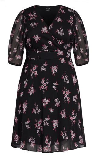 Ditsy Bloom Dress - dusty ditsy
