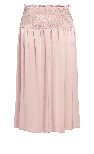 Refined Skirt - dusty rose
