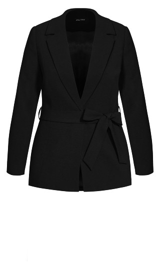 So Elegant Jacket - black