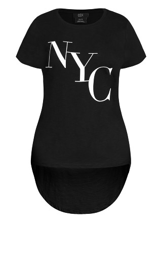 Cool NY Tee - black